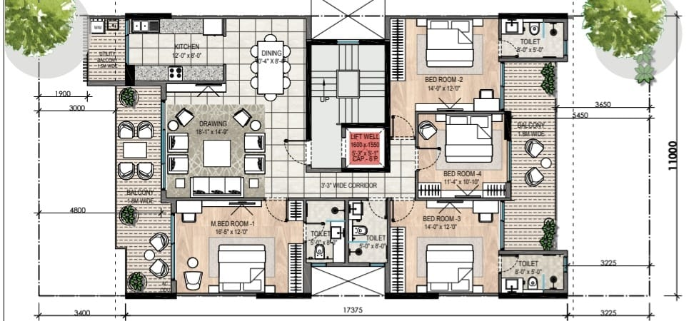 3 4 Bhk Dlf Floors Dlf Floors Gurgaon Sector 92 Dlf Garden City Gurgaon